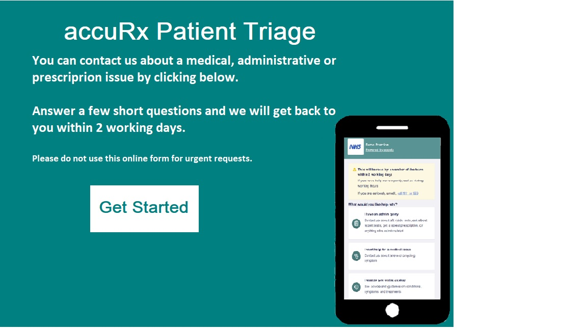 accuRx Patient Triage